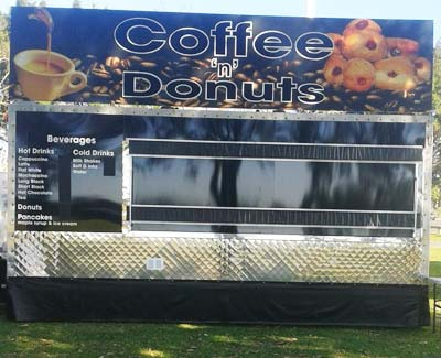Coffee and Donut Van