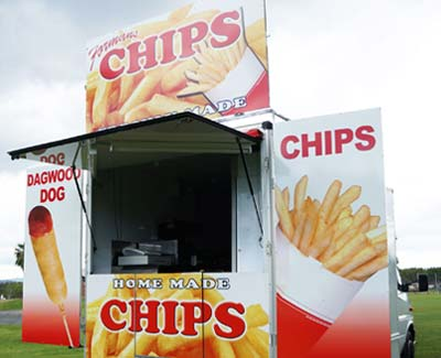 Hot Chips Food Van